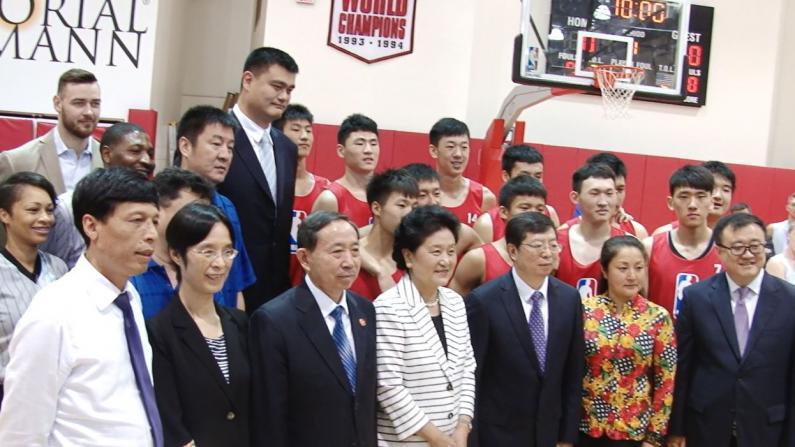 与中国教育部合作促进中美篮球交流 NBA中国:目标是在全中国开展合作