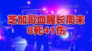 芝加哥血腥独立日周末 多起枪案致8人死41人伤