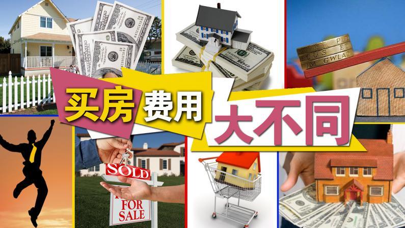 购买不同房产 费用大不同