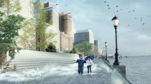 珊迪灾后纽约拟建东河防洪带 7/30华埠征集社区意见