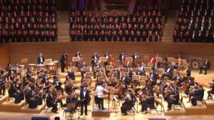 南加华人华侨唱响《黄河大合唱》 纪念抗战胜利70周年