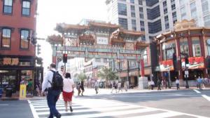 华盛顿华埠中国味渐渐消失 洋品牌林立中式餐馆屈指可数