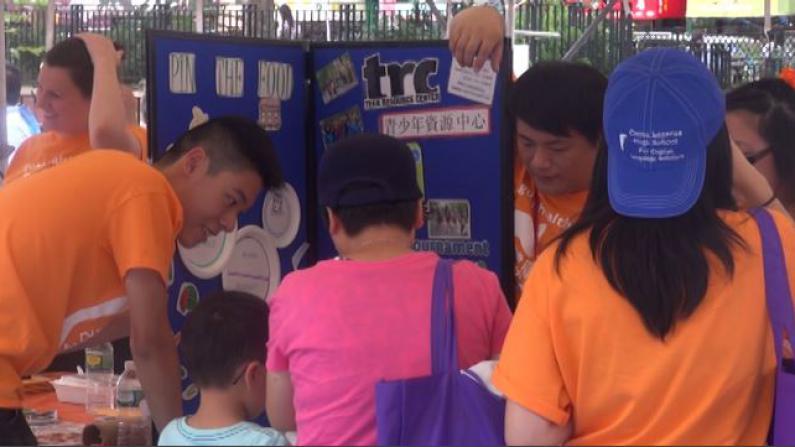 王嘉廉社区医疗中心健康日华埠举行 娱乐健康两不误