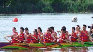 第25届纽约香港龙舟节法拉盛可乐娜公园举行