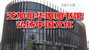 芝加哥华埠新图书馆开幕   图书丰富 寓教于乐