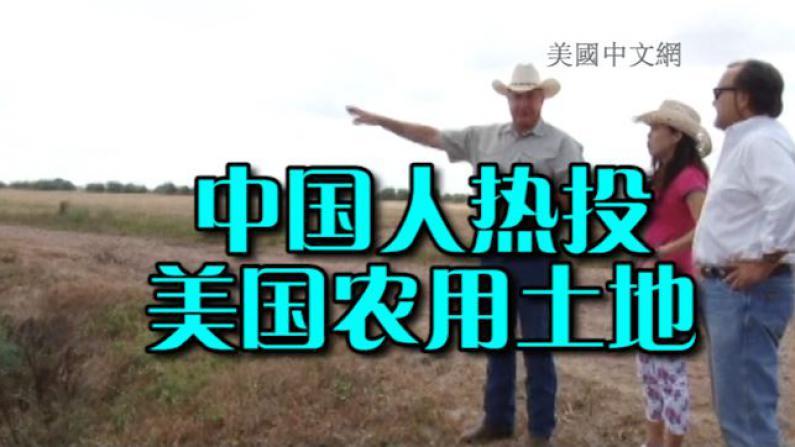 """中国人在美农用土地投资热 德州地产经纪""""恶补""""中国文化"""