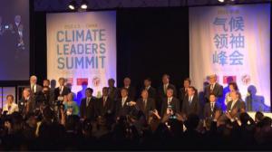 首届中美气候领袖峰会洛杉矶召开