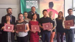 门罗大学免费ESL课程学员毕业 接受秋季新生报名