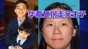 加州华裔母亲输掉抚养权 竟拐走两个未成年儿子