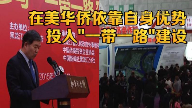 """""""一带一路""""覆盖全球过半人口 华侨应靠自身优势投入建设"""