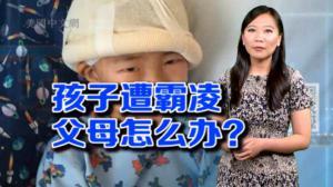 """开口不凡:华裔男孩遭欺凌?美国""""秋菊""""讨说法"""
