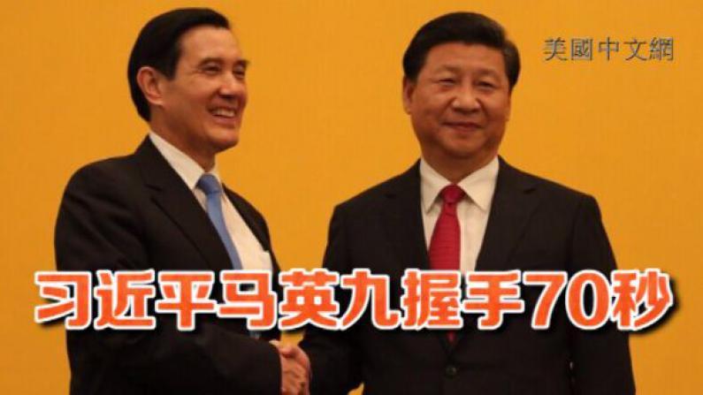 两岸领导人66年首次会面 习近平马英九实现历史性握手