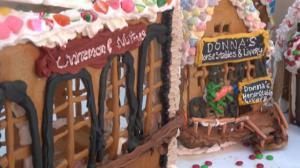 世界最大姜饼屋两项纽约科学博物馆