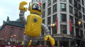 芝加哥感恩节大游行 中国元素增添节日气氛