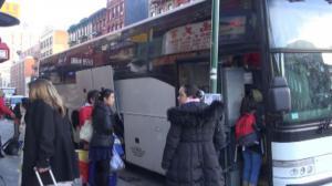 感恩节周末最后一天 华埠长巴迎来火爆客流