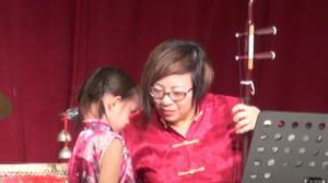 孟艺少儿民乐团演出 推广中国民乐文化