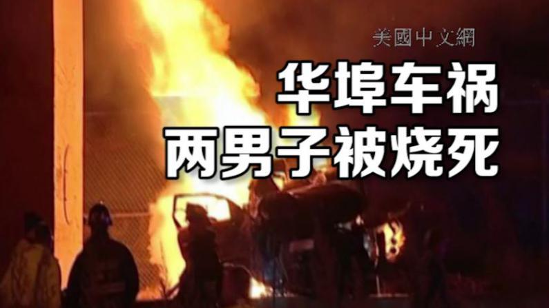 芝加哥南华埠附近深夜车祸 车辆起火两男子被活活烧死