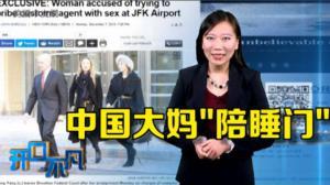 开口不凡:陪睡?Pay税?中国奇女子性贿美国海关被捕