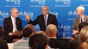 陆克文旧金山出席论坛:解决气候问题中美合作是关键