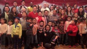 109分局华商会举办圣诞午餐 让低收入家庭儿童感受社区温暖