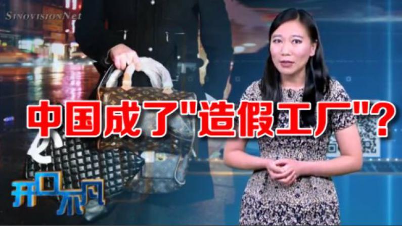 """开口不凡:美国90%假货来自中国?为何掀起自我羞辱的集体""""狂欢"""""""