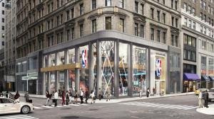 NBA旗舰店新张 高科技+高大上
