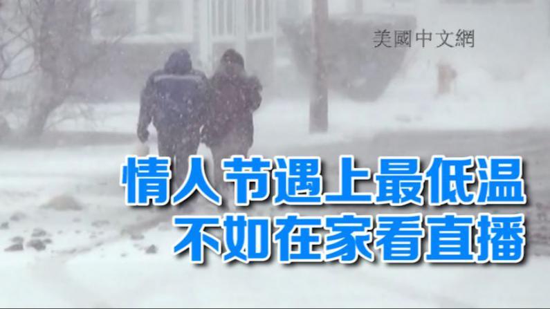 情人节纽约遇上今冬最低温 不如在家看花车游行直播