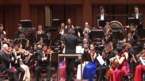 肯尼迪艺术中心举办中国新年音乐会 崔天凯大使赠春联祝福