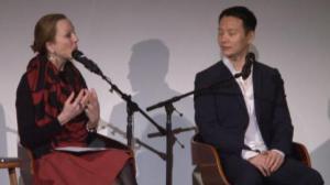 华裔跨界艺术天才沈伟 古根海姆博物馆上演身体绘画艺术