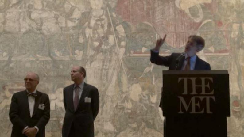 亚洲艺术周大都会博物馆招待会 近千名全球藏家参加