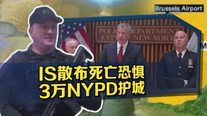 比利时恐袭案后纽约升级安保