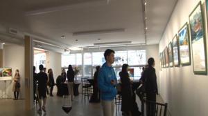 题:亚洲文化企业公司华盛顿办公楼落成开幕 两岸四地摄影家作品展现新疆风貌