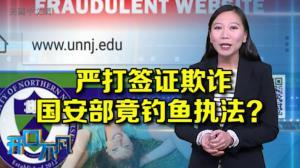 """开口不凡:美国严打""""野鸡大学""""签证欺诈 11华人落网"""