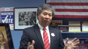 第65选区州众议员9月初选战况激烈 李宗保华埠开首间竞选办公室