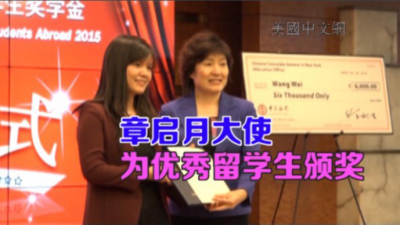 2015中国国家优秀自费留学生奖学金 纽约领区36学子获奖