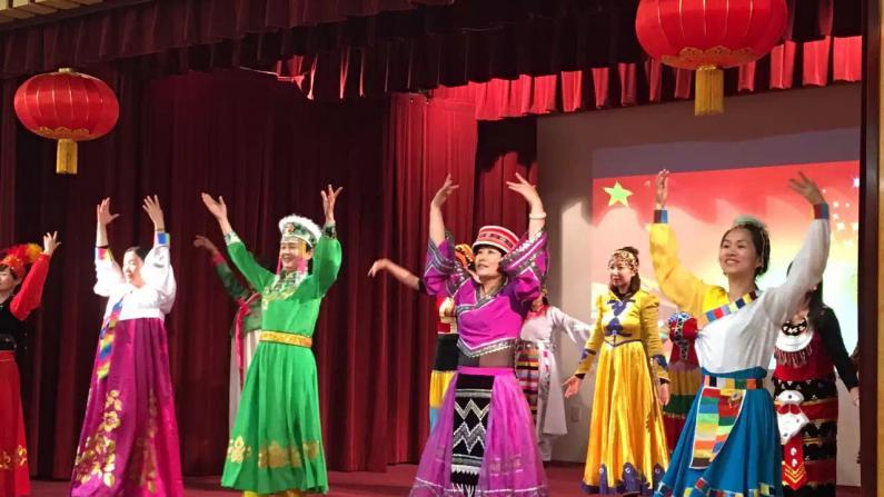 共庆母亲节 数百华裔女性齐聚旧金山中领馆