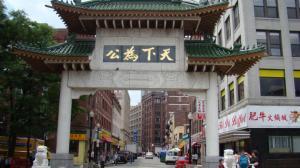 """波士顿华埠""""贵族化""""是把""""双刃剑""""     发展经济与保护传统可并存"""