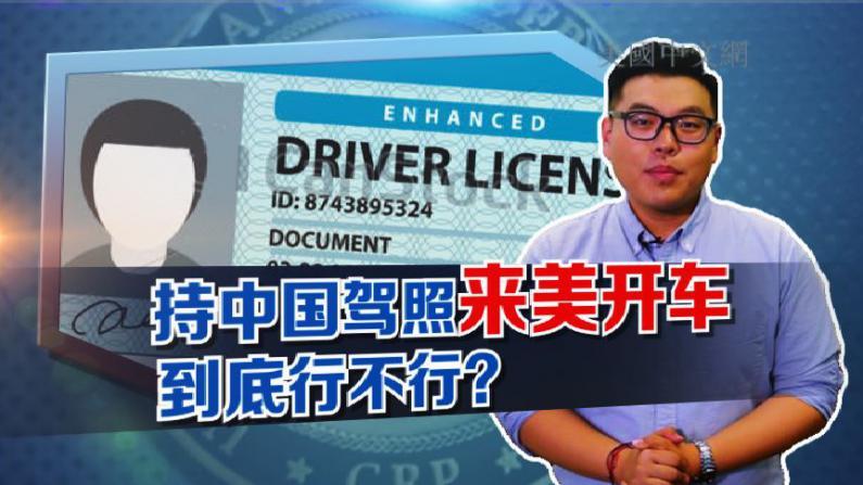 给你个说法--中国驾照来美国开车 到底行不行
