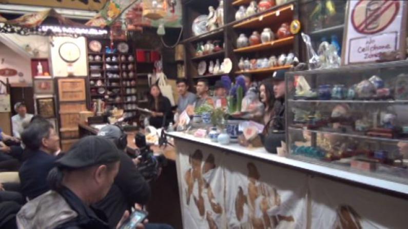 华埠百年古玩店新女主  与年轻创业者同谋华埠明天