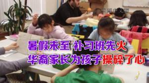 暑期将至 华裔补习热潮有增无减