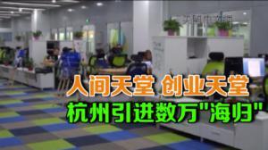 海外留学生归国发展呈递增趋势 杭州市府提供创新创业服务基地