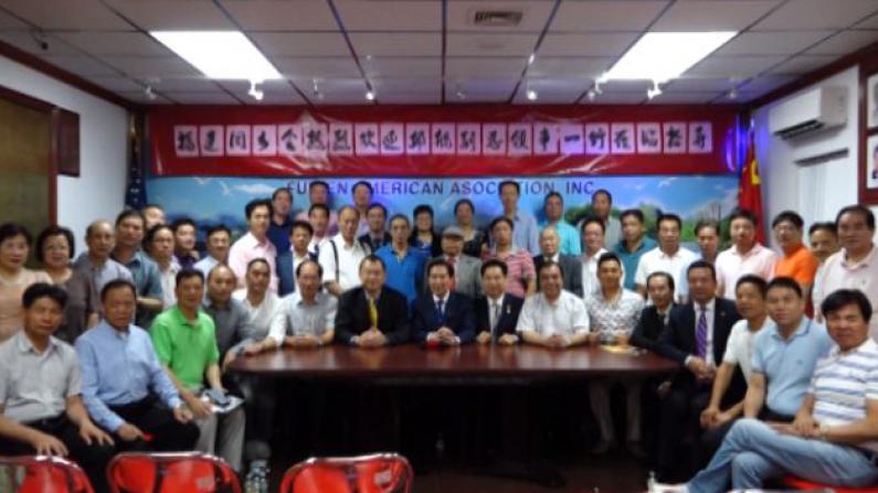新任中国驻纽约副总领事邱舰 拜访侨社获热情欢迎