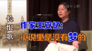 """王安忆:小说要""""撕裂美梦""""  是""""俗情""""的表现形式"""