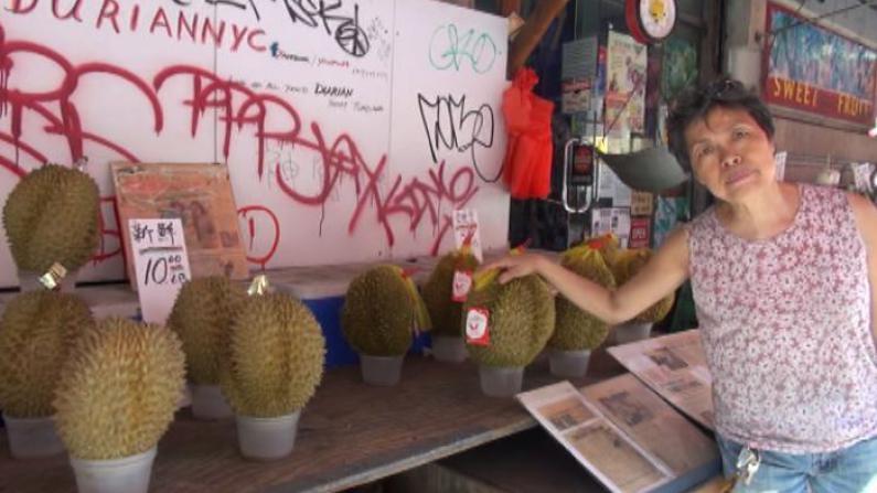 纽约酷暑 华埠水果档生意掉一半