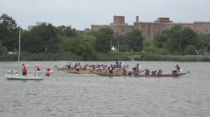 第 26届纽约香港龙舟赛法拉盛可乐娜公园开战