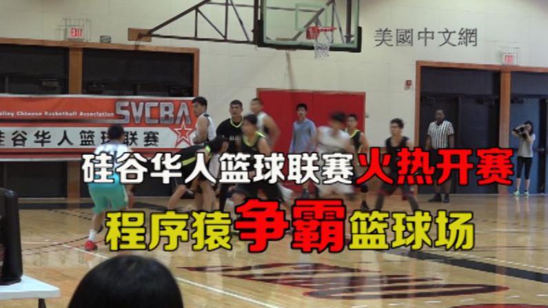程序猿球场争高下 硅谷华人篮球联赛火热开赛