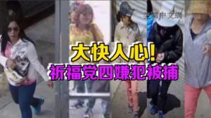 祈福党诈骗案取得重大进展 4名嫌犯华埠落网