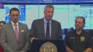 """纽约市三年来首次""""超高温预警"""" 警报将持续到周日晚10点"""
