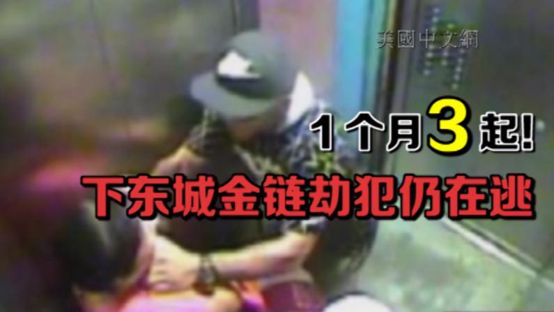 光天化日当街扯华妇金链 7分局辖区爆连环抢案