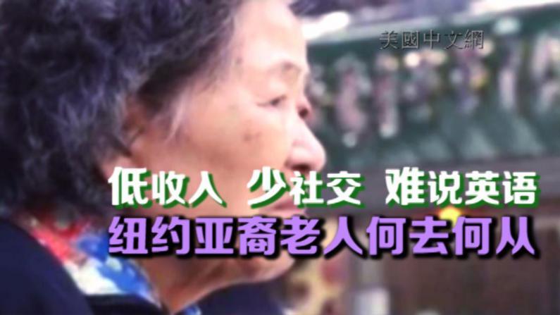 纽约市亚裔老年人报告出炉  华裔老人贫困率22% 社交隔阂引发心理问题